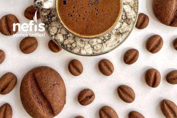 Kahve Çekirdeği Kurabiyesi