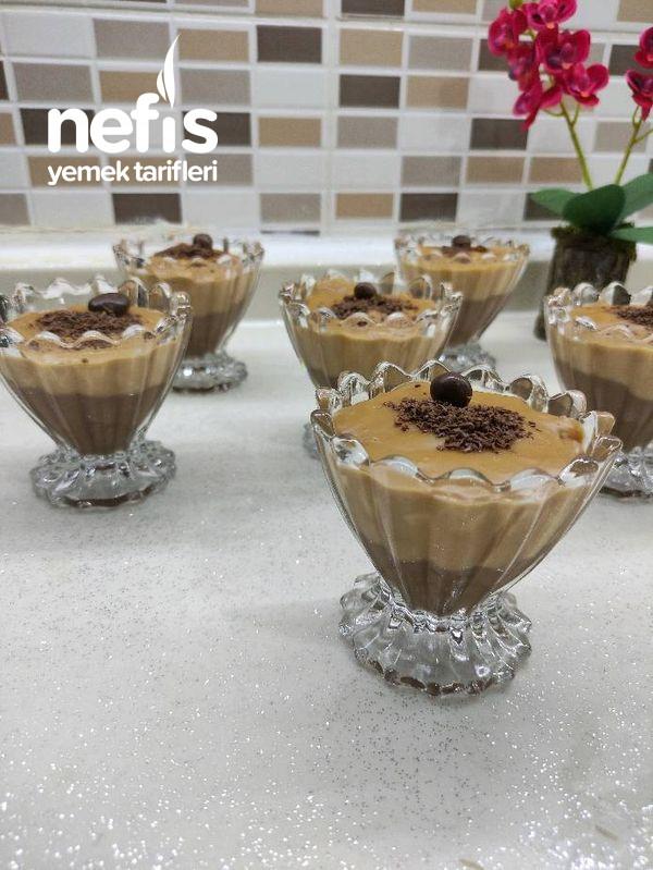 Karamelli Çikolatalı Muhallebi Tam Bir Yaz Tatlısı-9448601-180522