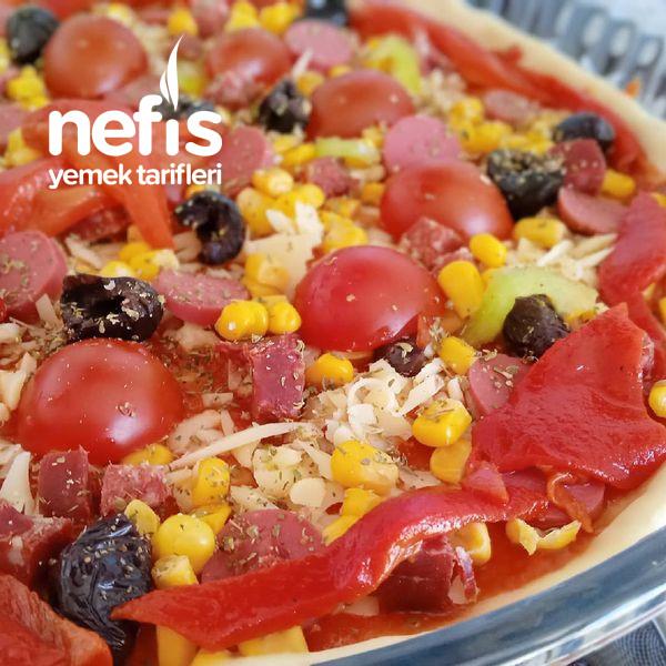 Pizzacılara Taş Çıkartacak Ev Pizzası-9447585-140513