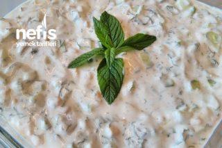Yoğurtlu Yaz Salatası Tarifi