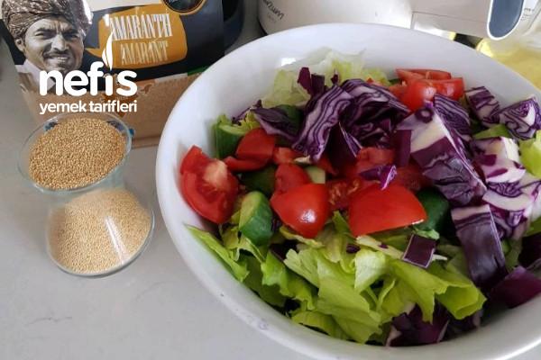 Amaranthlı Yaz Salatası (Diyete Uygun)-9449573-080530