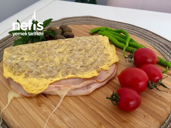 Çok Doyurucu Ve Lezzetli Yulaflı Tost ( diyete uygun)-9450022-090508