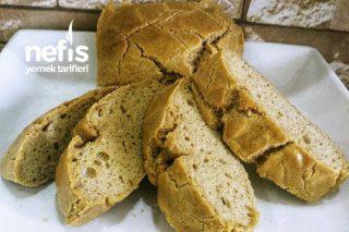 Glutensiz Unsuz Mayasız Sütsüz Ekmek Tarifi