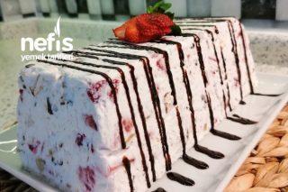 Mevsim Meyveli Parfe Pasta (Videolu) Tarifi