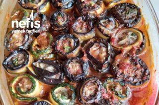 Köfteli Patlıcan Sarma (Ketojenik Tarif) Bu Tarif Diyet Yapmayanların Bile Çok Hoşuna Didecek Tarifi