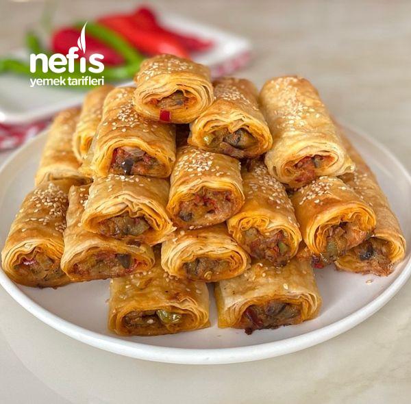 Nefis Lezzetiyle Patlıcanlı Börek-9454524-130513