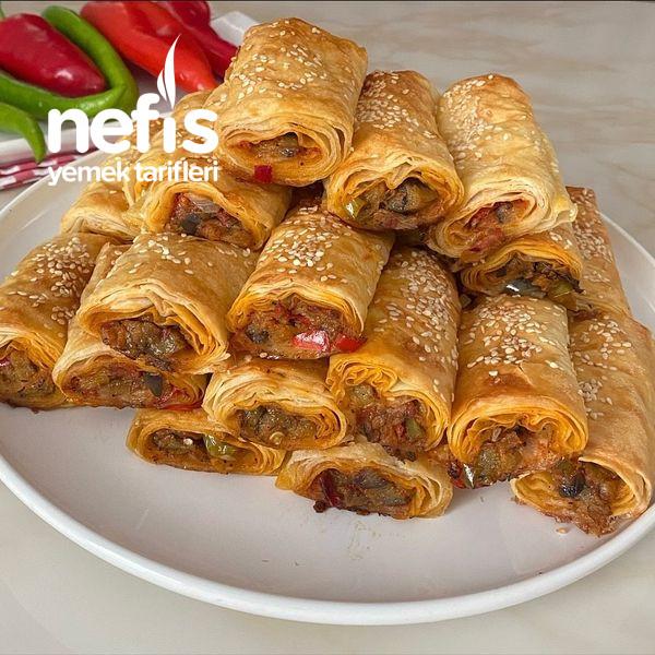 Nefis Lezzetiyle Patlıcanlı Börek-9454524-130517