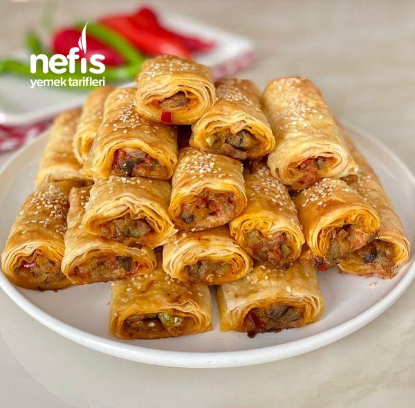 Nefis Lezzetiyle Patlıcanlı Börek-9454524-130519