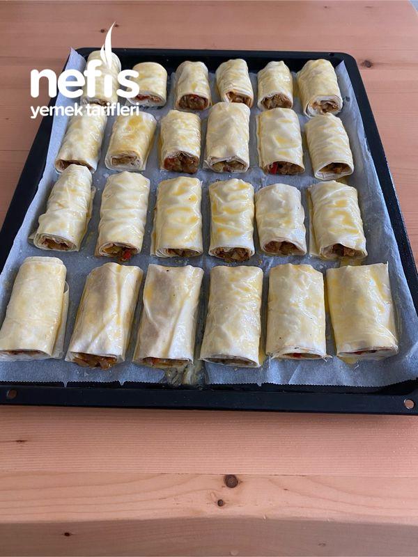 Nefis Lezzetiyle Patlıcanlı Börek-9454524-130551