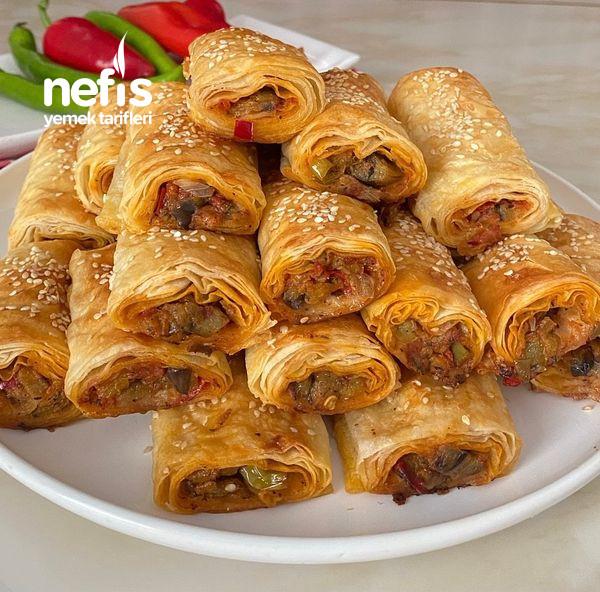Nefis Lezzetiyle Patlıcanlı Börek-9454524-130509