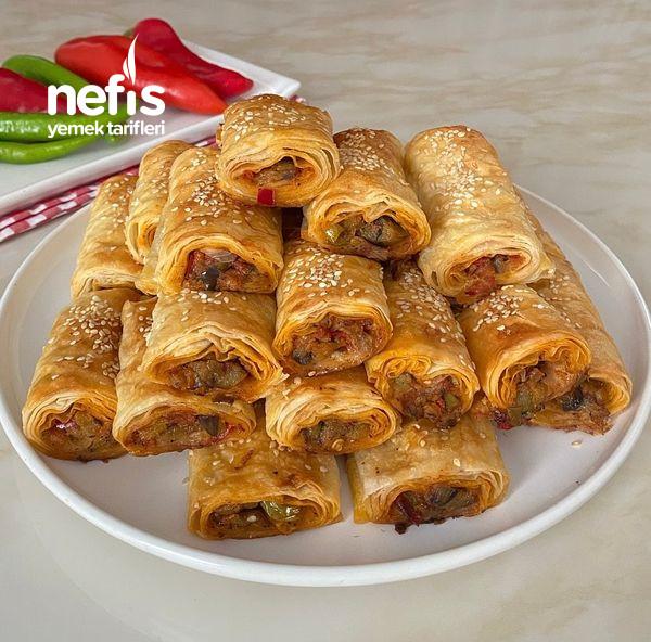 Nefis Lezzetiyle Patlıcanlı Börek-9454524-130510
