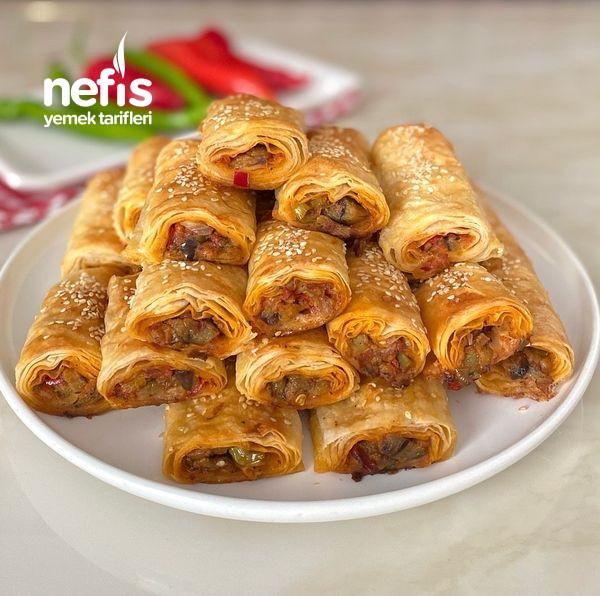 Nefis Lezzetiyle Patlıcanlı Börek-9454524-130512