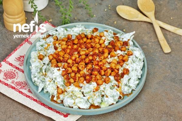 Nohutlu Semizotu Salatası Tarifi-9453932-170516