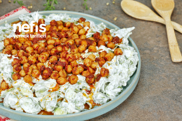 Nohutlu Semizotu Salatası Tarifi-9453932-170524