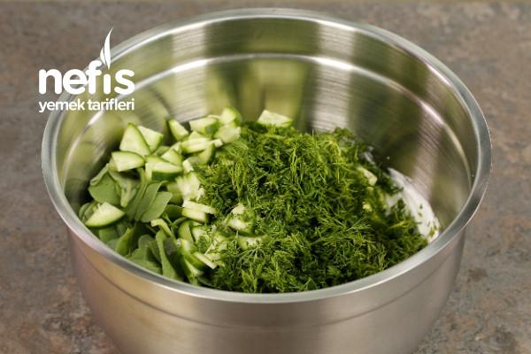 Nohutlu Semizotu Salatası Tarifi-9453932-100546