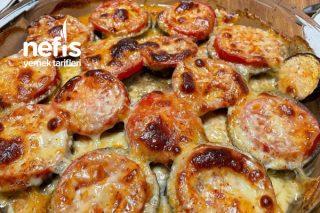 Yemeye Doyulmaz Patlıcan Pizzası Tarifi
