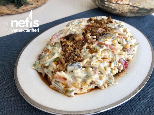 Yoğurtlu Erişteli Sebze Salatası-9456854-090552