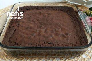 Çikolatasız Mud Browni Akışkan Kıvamda Tarifi