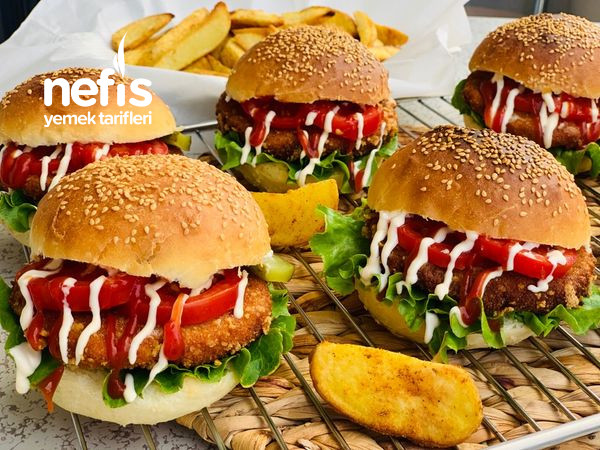 Çıtır Tavuk Burger-9462749-200544