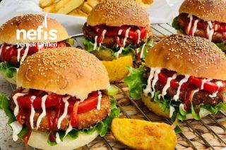 Çıtır Tavuk Burger Tarifi