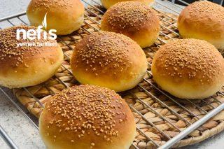 Hamburger Ekmeği (8 Adet) Tarifi