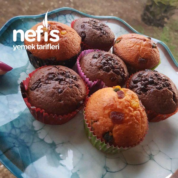 Kakao Ve Kuru Meyveli Muffin-9459869-070544