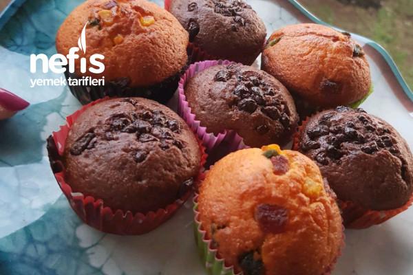 Kakao Ve Kuru Meyveli Muffin