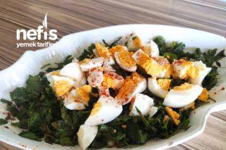 Yumurta Salatası (Kahvaltılık) Tarifi