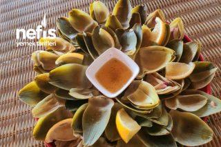 Enginar Yaprağı Salatası (Karaciğer Dostu,şifa Kaynağı) Tarifi