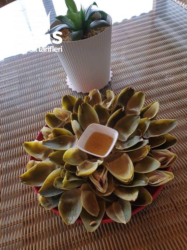 Enginar Yaprağı Salatası (Karaciğer Dostu,şifa Kaynağı)-9465529-190506