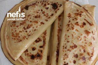 Pizza Tadında Krep Tarifi