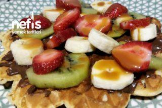Çıtır Çıtır Waffle Tarifi