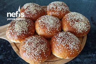 Hamburger Ekmeği (8 Tane) Tarifi