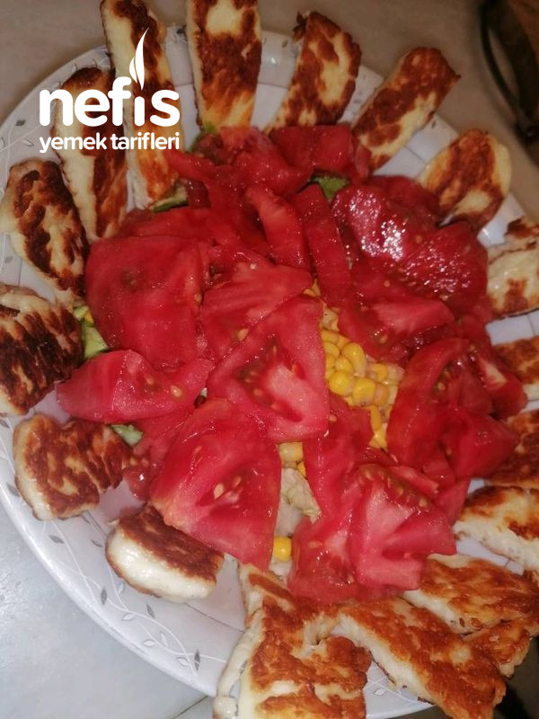 Hellim Peynirli Salata-9467129-070514