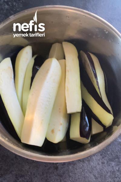 Yağ Çekmeyen Mısır Unlu Patlıcan Kızartması-9468087-110535