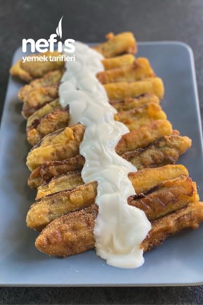 Yağ Çekmeyen Mısır Unlu Patlıcan Kızartması-9468087-110538