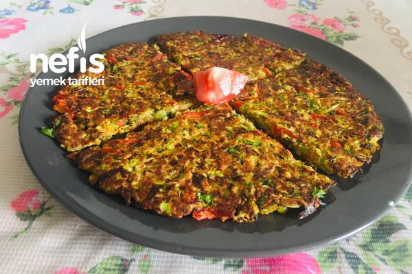 Kabaklı Omlet (Kahvaltılık)