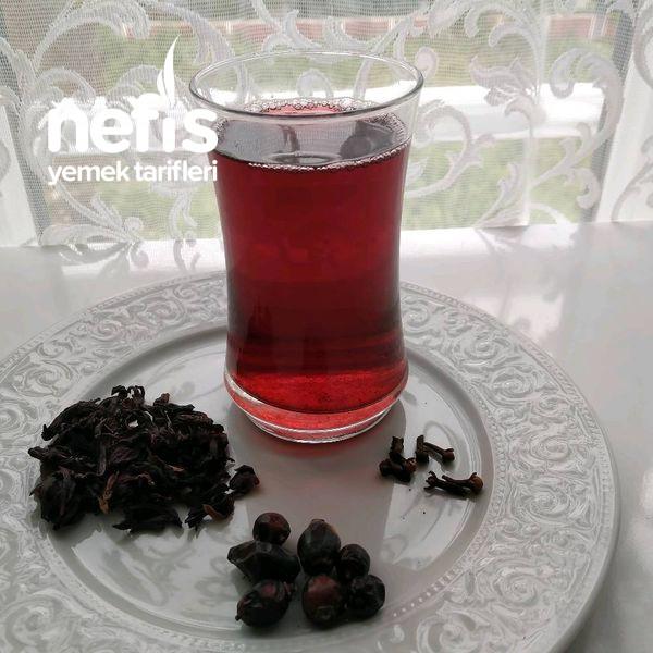 Kuşburnu, hibiskus şerbeti-9472013-160633