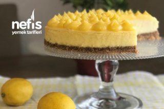 Limonlu Cheesecake Favoriniz Olacak Tarifi