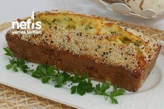 Peynirli Zeytinli Tuzlu Kek  Şip Şak Hazırlanan Tarifi