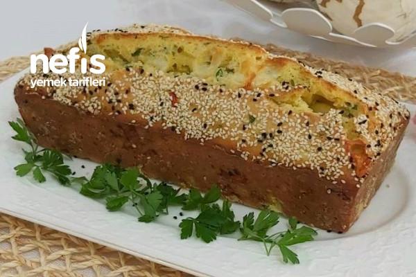 Peynirli Zeytinli Tuzlu Kek  Şip Şak Hazırlanan