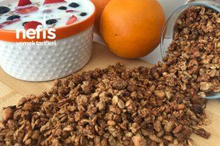 Portakallı Tarçınlı Granola Tarifi