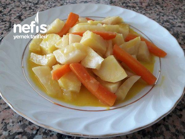 Portakallı Zeytinyağlı Kereviz Yemeği-9465942-140623