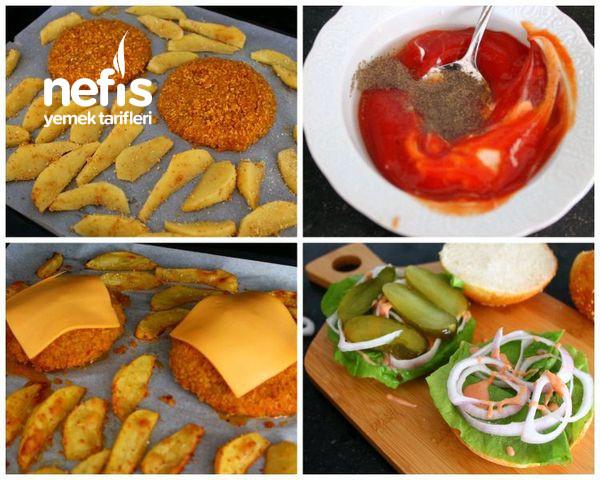 Tavuk Burger (Hazır Burgerlerden Bin Kat Lezzetli)-9470213-070643