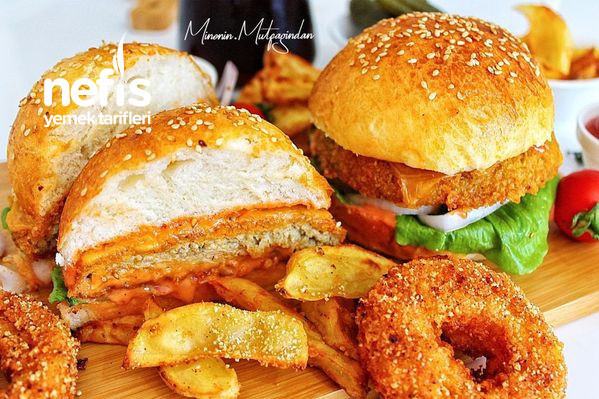 Tavuk Burger (Hazır Burgerlerden Bin Kat Lezzetli)-9470213-070644