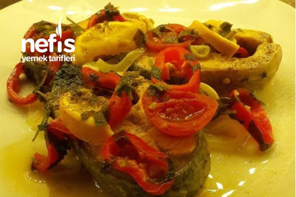 Türk Somon Balığı Pilaki