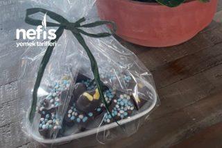 Doğum Çikolatası (Muhteşem Görünüm Ve Lezzet) Tarifi