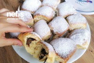 Evdeki Malzemelerle Kolayca Hazırlayabileceğiniz Tatlı Ekmek (Buchteln) (Videolu) Tarifi