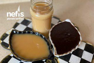 İki Lezet Bir Arada Süt Reçeli Kakaolu ve Sade Tarifi