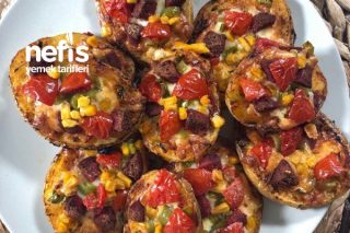 Patates Tabanlı Pizza (Videolu) Tarifi